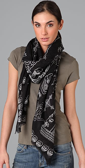 we are owls Wrathful Scarf