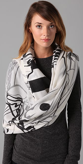 we are owls Pierrot Scarf