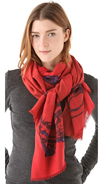 we are owls Lord Lion Scarf