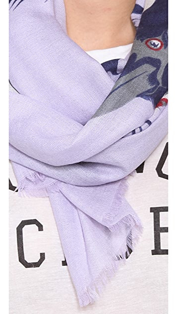 we are owls Stay Cashmere Scarf