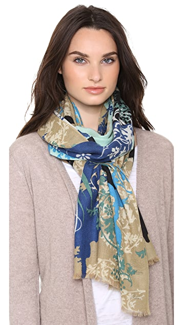 we are owls Lace of Life Cashmere Scarf