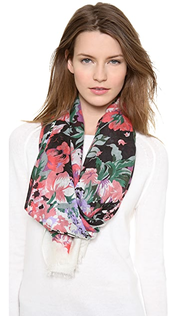 we are owls Flowery Scarf