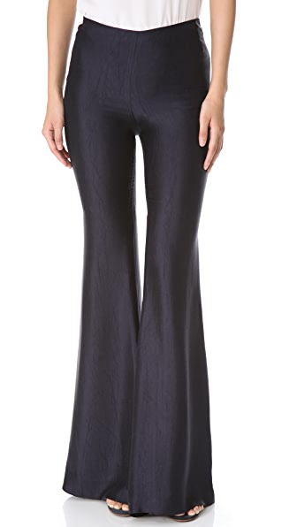 Wes Gordon Solid Flare Pants