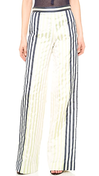 Wes Gordon Wide Leg Trousers