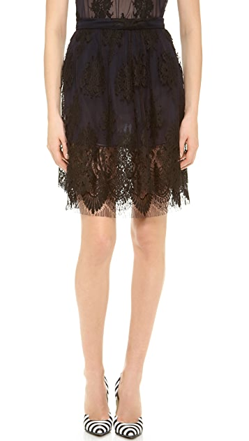 Wes Gordon Gathered Skirt