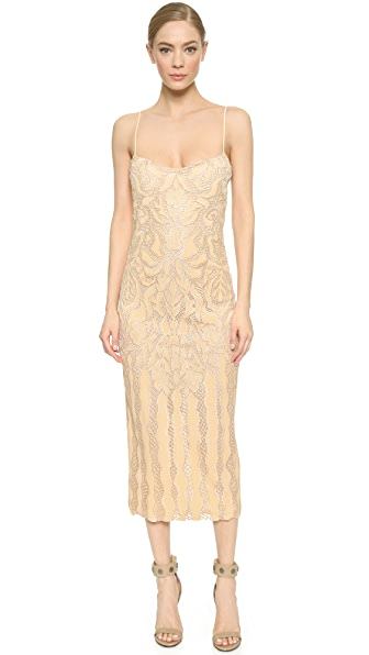 Shop Wes Gordon online and buy Wes Gordon Natalia Gown Nude-Ivory dresses online