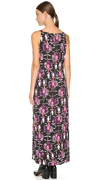 Wes Gordon Double Slit Dress