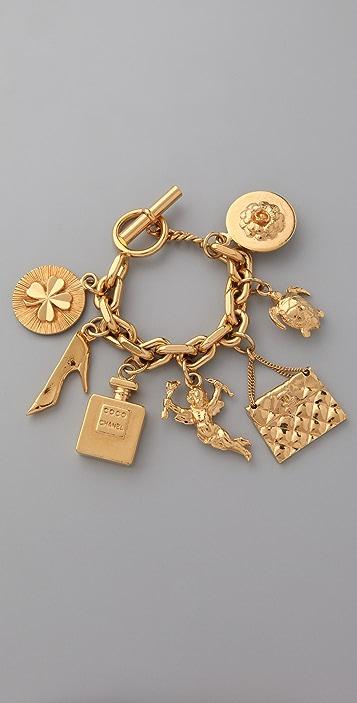 WGACA Vintage Vintage Chanel '80s Charm Bracelet