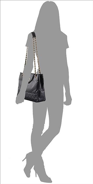 WGACA Vintage Vintage Chanel Leather Bag