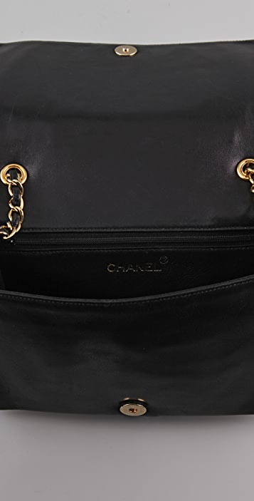 WGACA Vintage Vintage Chanel Top Logo Bag