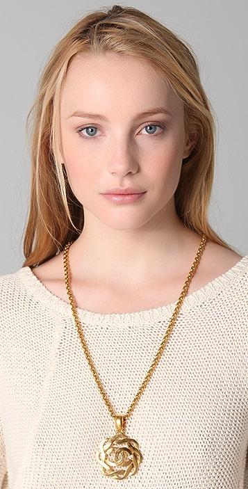 WGACA Vintage Vintage Chanel CC Necklace