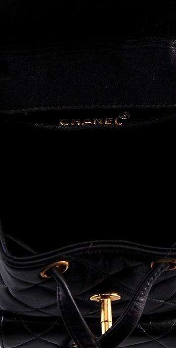 WGACA Vintage Vintage Chanel CC Backpack