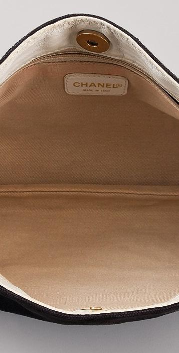WGACA Vintage Vintage Chanel Two Tone Handbag