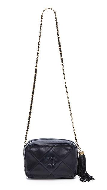 WGACA Vintage Vintage Chanel Quilted CC Shoulder Bag