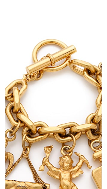 WGACA Vintage Vintage Chanel Charm Bracelet