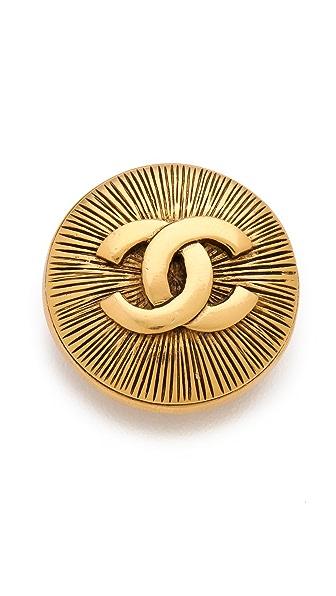 WGACA Vintage Vintage Chanel CC Burst Pin