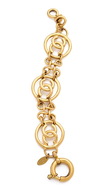 WGACA Vintage Vintage Chanel Coins Bracelet
