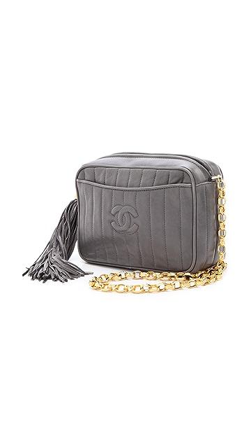 WGACA Vintage Vintage Chanel Line Bag