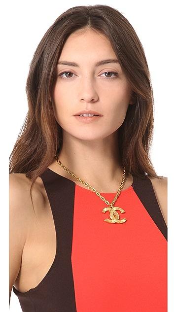 WGACA Vintage Vintage Chanel Drop Necklace