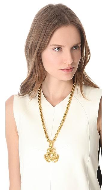 WGACA Vintage Vintage Chanel Pendant Necklace