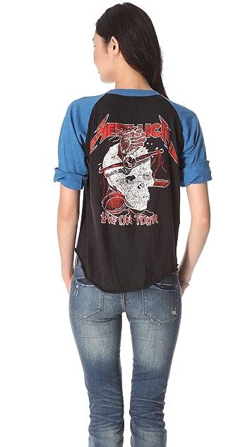 WGACA Vintage Metallica Vintage Concert Tee