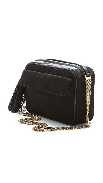 WGACA Vintage Vintage Chanel Silk Quilted Bag