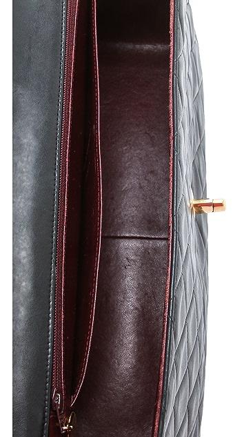 WGACA Vintage Vintage Chanel Lamb Shoulder Bag