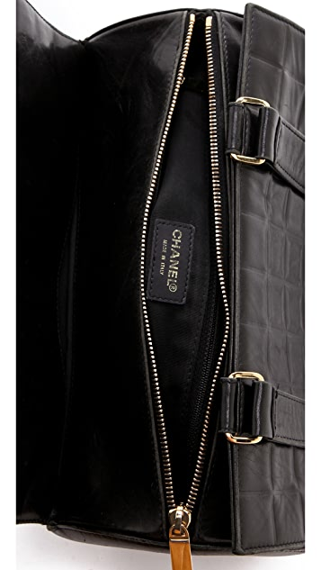 WGACA Vintage Vintage Chanel Barrel Bag