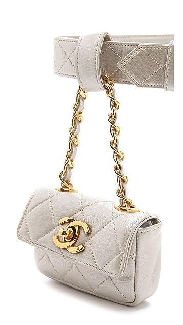 WGACA Vintage Vintage Chanel Waist Pouch