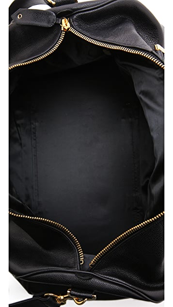 WGACA Vintage Vintage Chanel Large Boston Bag
