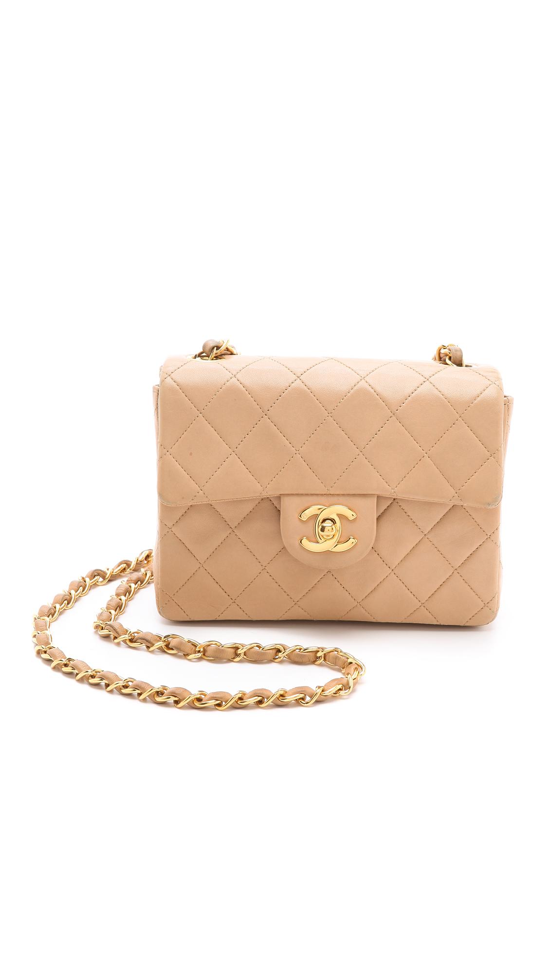d707698e8443aa WGACA Vintage Vintage Chanel Mini Bag   SHOPBOP
