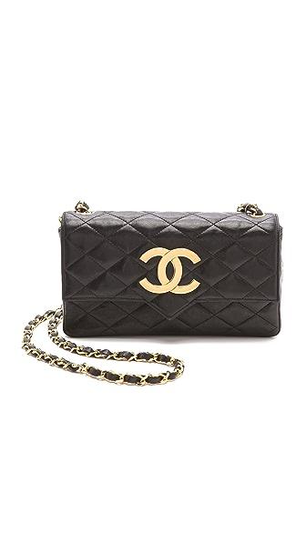 WGACA Vintage Vintage Chanel Pointed Flap Bag