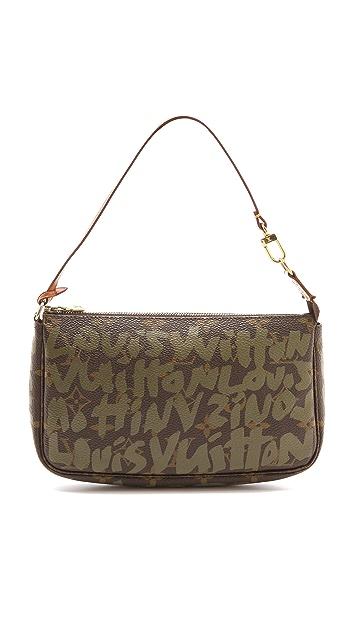 WGACA Vintage Vintage Louis Vuitton Sprouse Graffiti Vanity Pouch