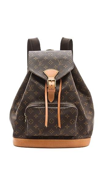 WGACA Vintage Vintage Louis Vuitton Montsouris Mono Backpack