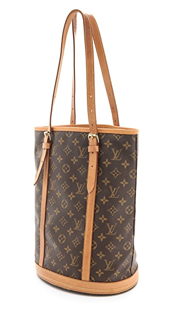 WGACA Vintage Vintage Louis Vuitton Mono Bucket Bag