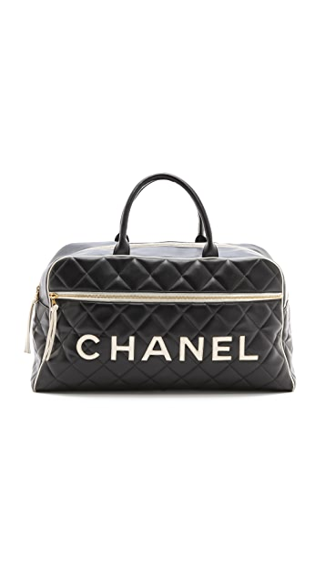 WGACA Vintage Chanel Big Duffel Bag