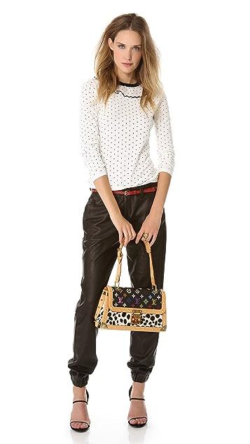 WGACA Vintage Louis Vuitton Dalmatian Mono Bag