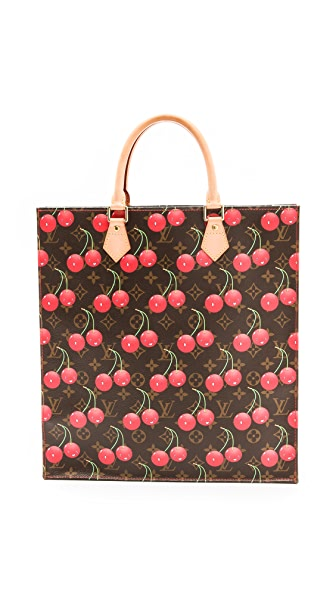 WGACA Vintage Louis Vuitton Murakami Cherry Tote