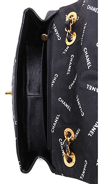 WGACA Vintage Vintage Chanel Jumbo Words Bag