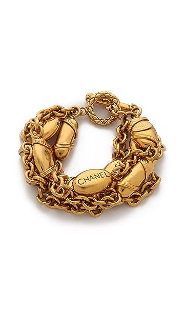 WGACA Vintage Vintage Chanel Buoys Bracelet