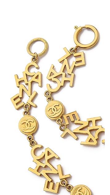 WGACA Vintage Vintage Chanel Small Coin Necklace