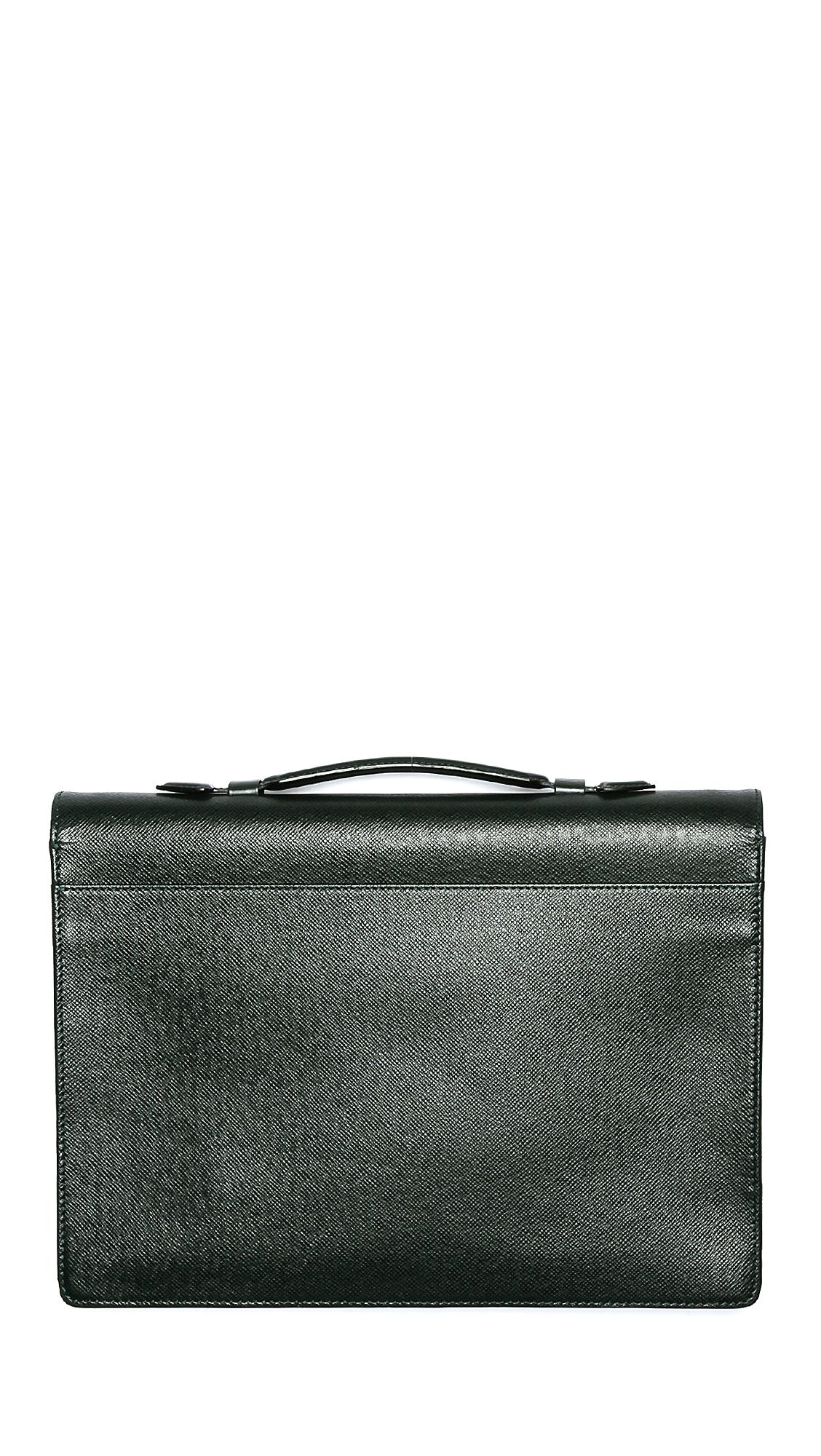 6cffa00e3ca0 WGACA Vintage Vintage Louis Vuitton Taiga Briefcase