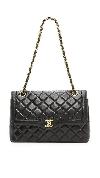 WGACA Vintage Vintage Chanel Paris Ltd Shoulder Bag