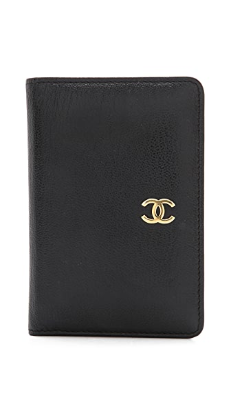 WGACA Vintage Vintage Chanel Card Holder