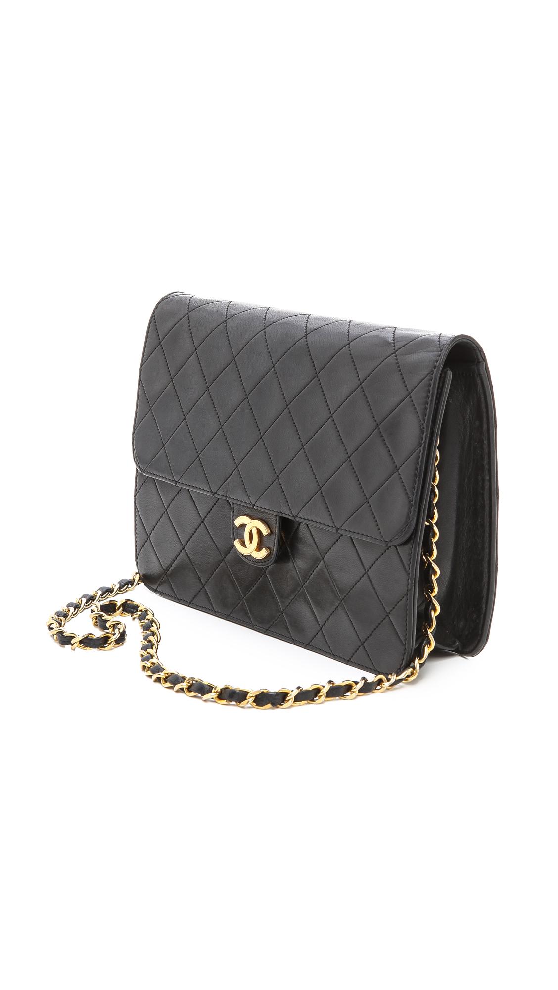9610f868c5b0 WGACA Vintage Vintage Chanel Ex Flap Bag | SHOPBOP