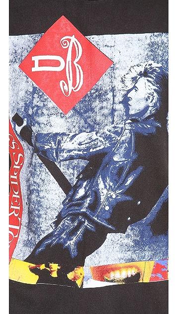 WGACA Vintage David Bowie Concert Tee