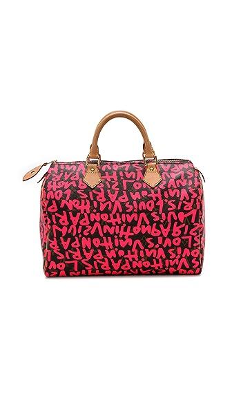 WGACA Vintage Vintage LV Sprouse Graffiti Speedy Bag