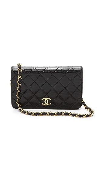 WGACA Vintage Vintage Chanel Flap Cross Body Bag