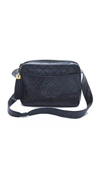 WGACA Vintage Vintage Chanel Extra Large Camera Bag