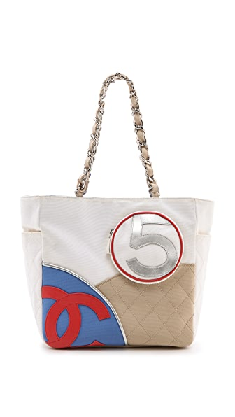 What Goes Around Comes Around Chanel Cotton Tote